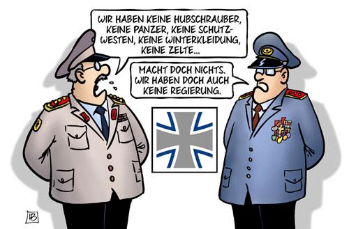 Mängel in der Bundeswehr