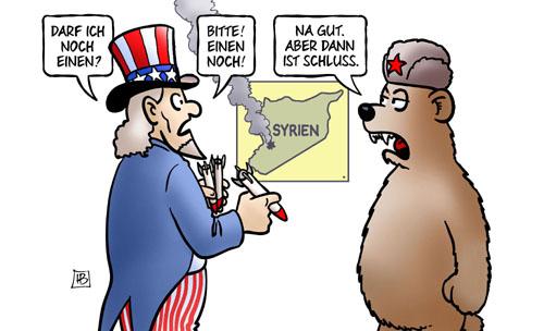 USA: Raketenangriffe auf Syrien