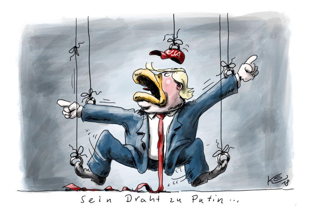 Trumps Draht zu Putin