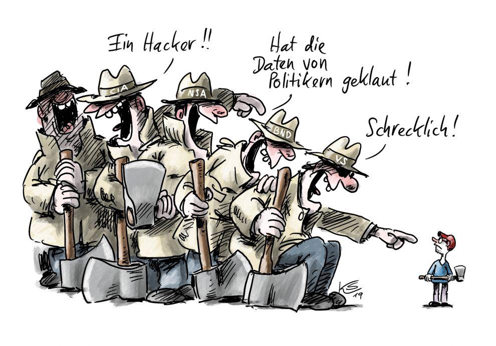 Datenklau in Deutschland