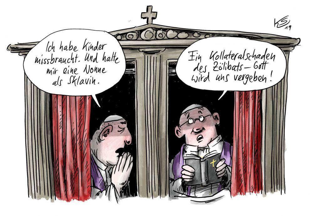 Kirche: Kollateralschaden des Zölibats