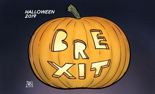 Halloween und Brexit