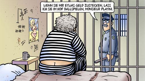 Platini wegen Korruption verhaftet