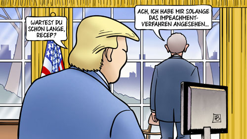 Erdogarn besucht Trump