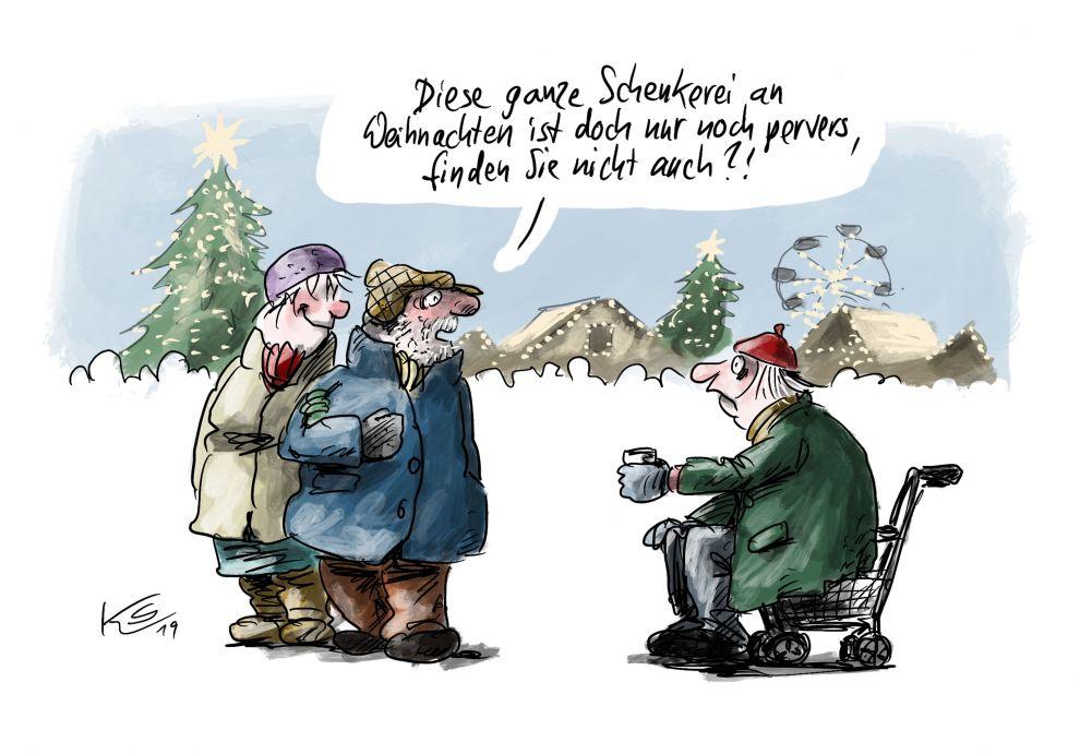 Schenkerei zu Weihnachten