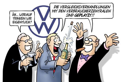 VW: Vergleichsverhandlungen geplatzt