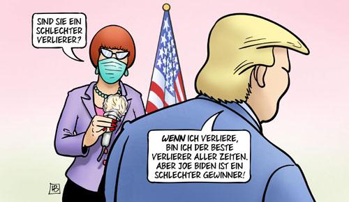 Trump: Schlechter Verlierer?