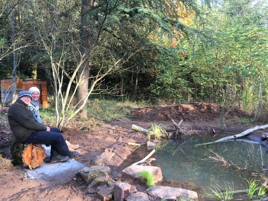 Neu gelernt: Teich anlegen