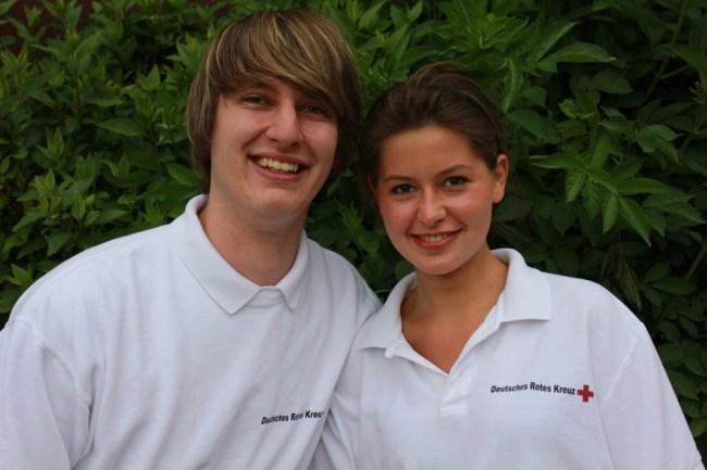 Hannelore Korduan (r.) und Markus Duckheim
