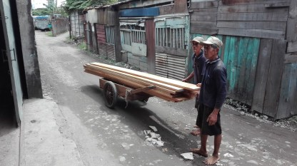 Moving wood