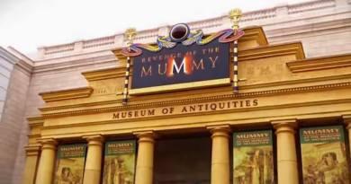 """Revenge of the Mummy"" wegen Renovierungsarbeiten in den Universal Studios Florida geschlossen"