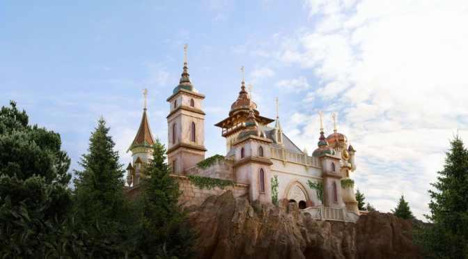 Efteling baut Schlossgarten in luftiger Höhe & unser Symbolica Gewinnspiel