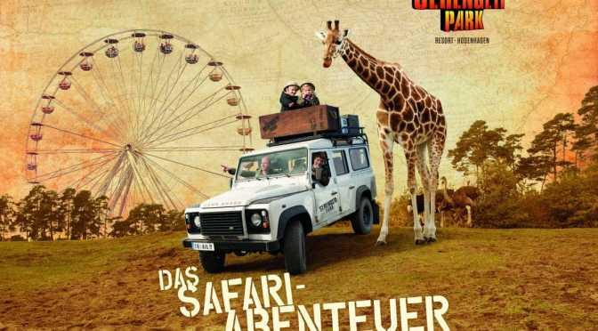 Saisonstart im Serengeti-Park am 30.03.2019  mit vielen Neuheiten