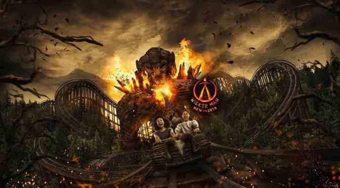 Die erste Achterbahn die Holz und Feuer vereint