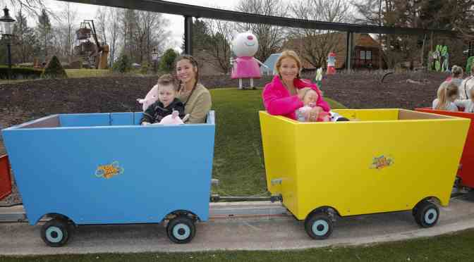 Promi-Event im Peppa Pig Land