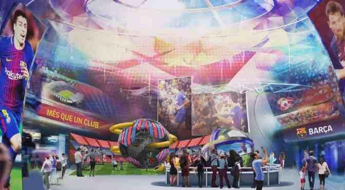 FC Barcelona & Parques Reunidos bauen 5 Indoor-Entertainment-Center