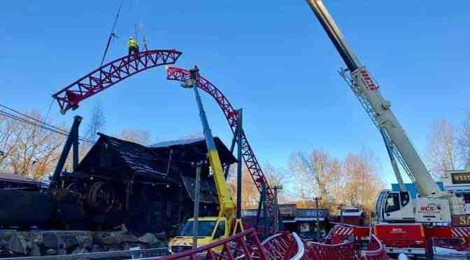 Dynamite: Die erste Big Dipper Achterbahn in Deutschland wächst und wächst!