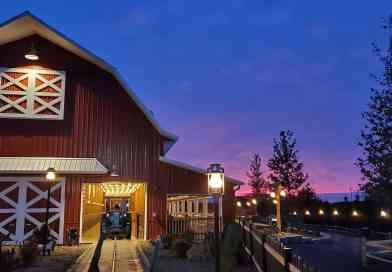 US Bauernhof mit neuem Fahrgeschäft von Metallbau Emmeln
