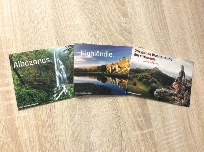 Postkarten Schwäbische Alb - Foto: Schwäbische Alb Tourismus