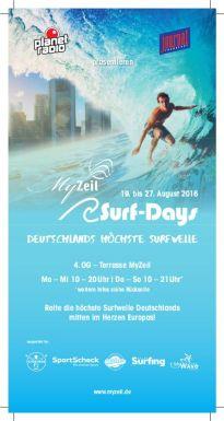 MyZeil - SurfDays Flyer