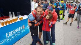 Gewinner des P100 beim Pitz Alpine Glacier Trails: Piotr Hercog aus Polen - ©TVB Pitztal