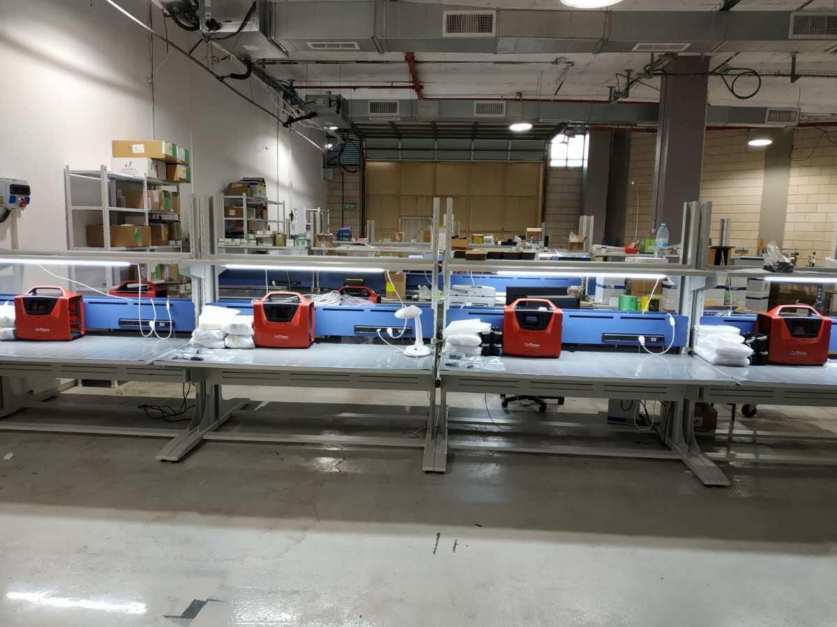 Production preparation