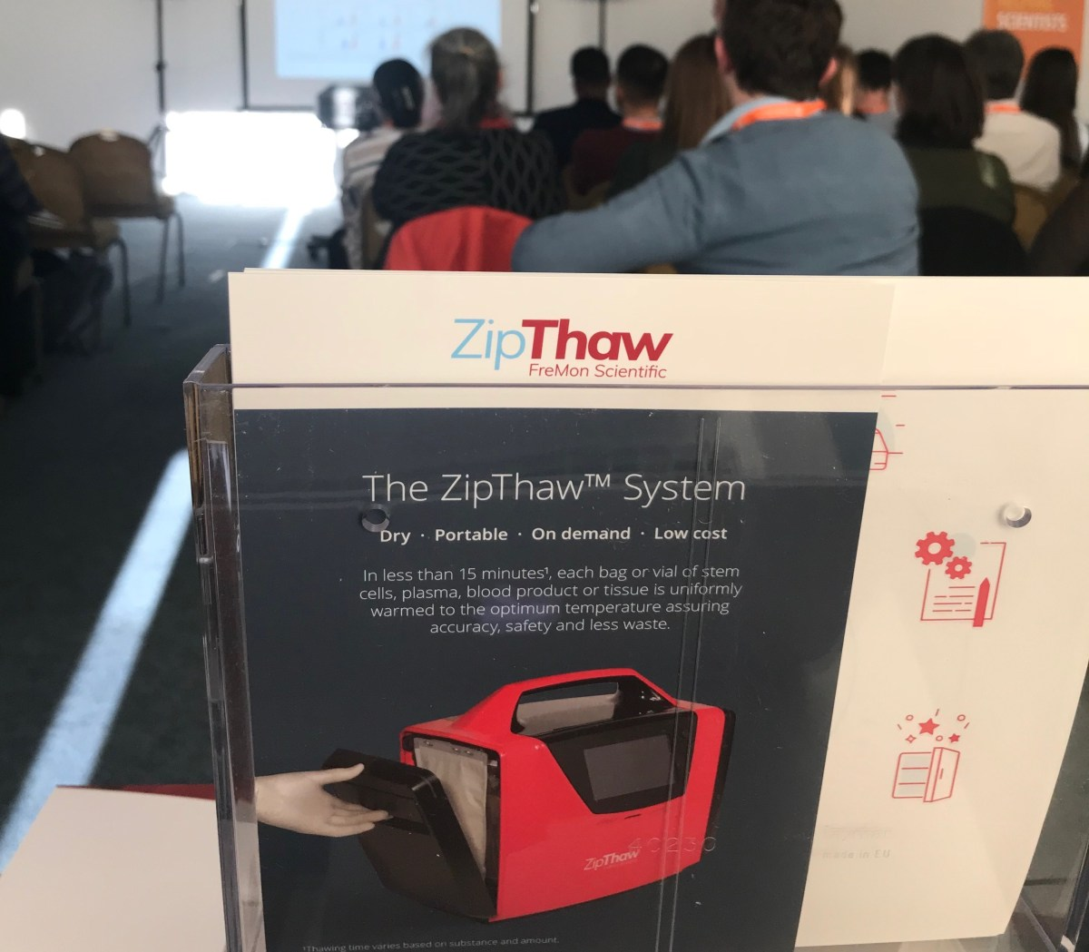 ZipThaw with Deva Medical in the UK