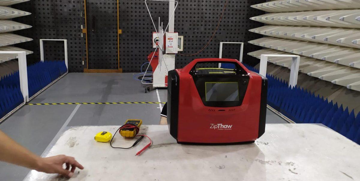 ZipThaw passes EMC testing