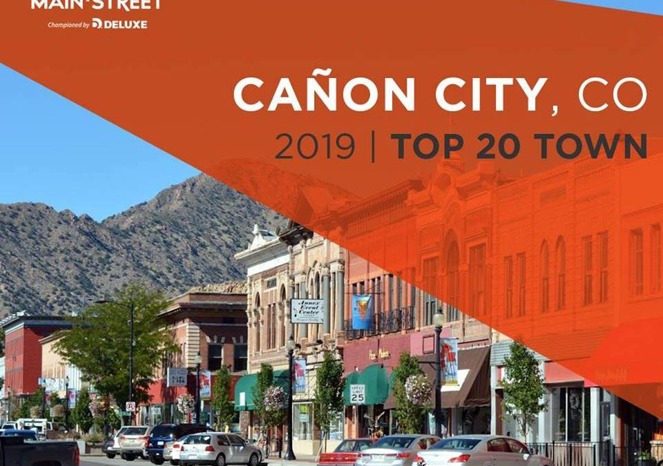 Cañon City: The Small Business Revolution Top 20 Town!