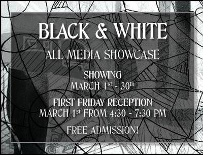 Black & White Showcase Opening Reception