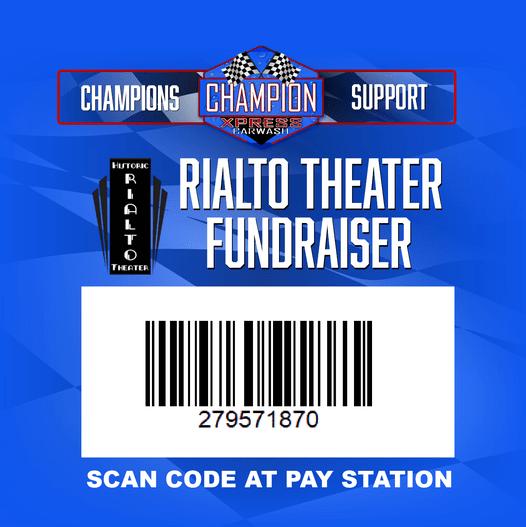 Rialto/ChampionXpress Carwash Fundraiser