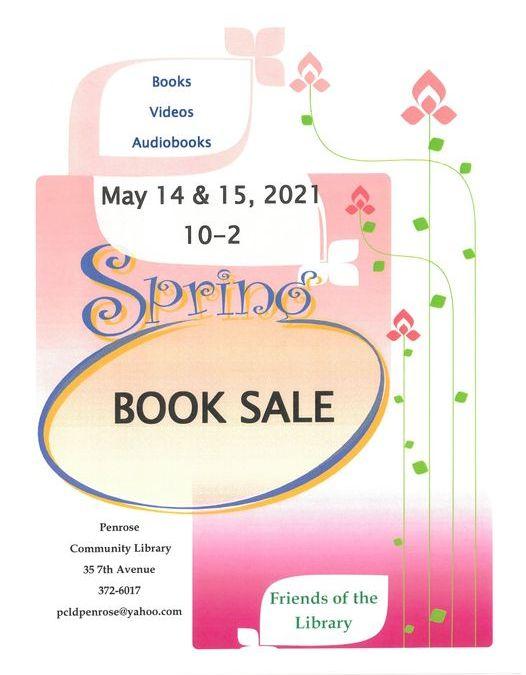 Book Sale & Soup-er Chili Fundraiser @ Penrose Library