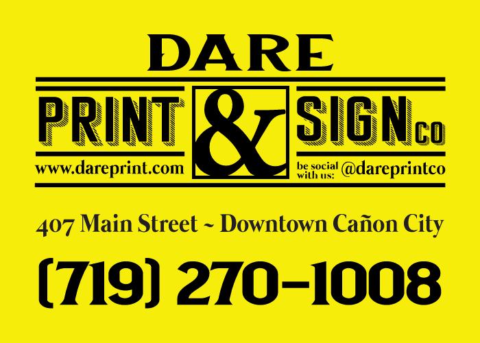 Community Partner Spotlight: DARE Print & Sign Co.