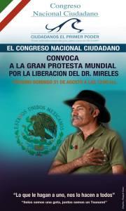 Protesta MUNDIAL