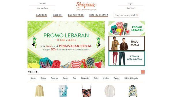 Shopious e-commerce