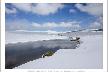 Le Tarn sous la neige
