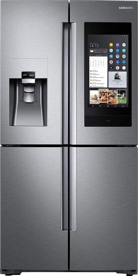 Samsung Family Hub - French Door Kühlschrank mit Eiswürfelspender