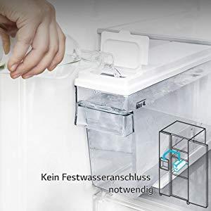 Side-by-Side Kühlschrank ohne Festwasseranschluss
