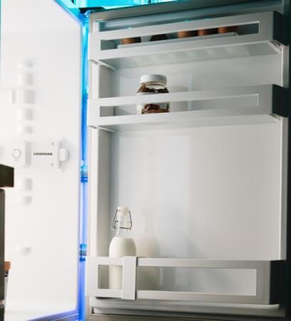 Der Sinn der Kühlschrankfächer