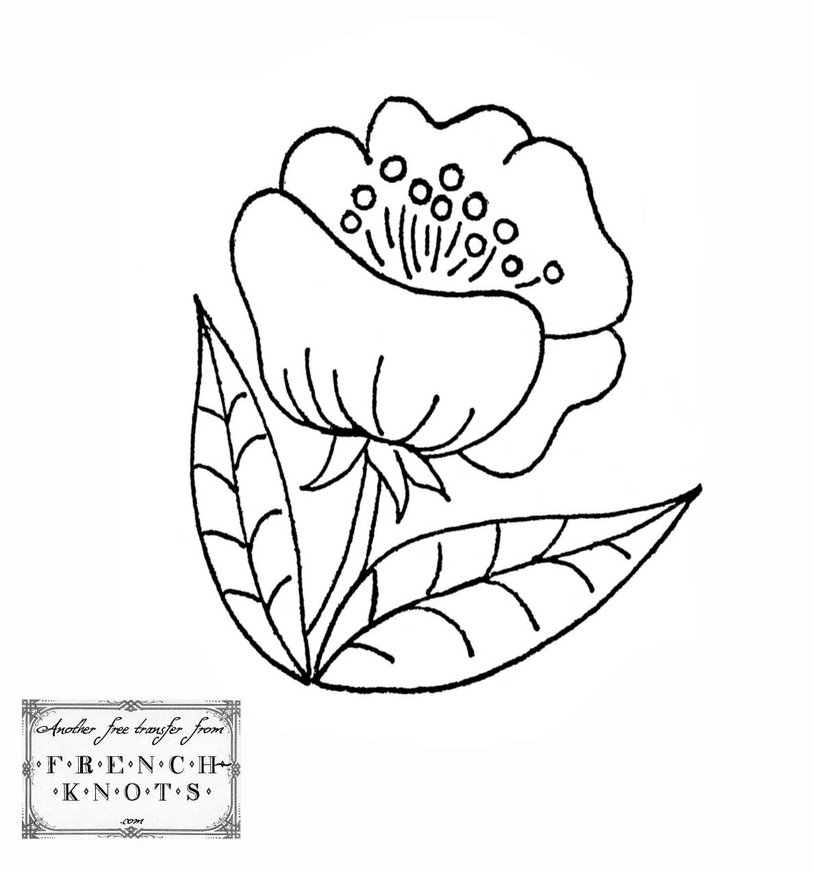 Sprigs – Embroidery Patterns