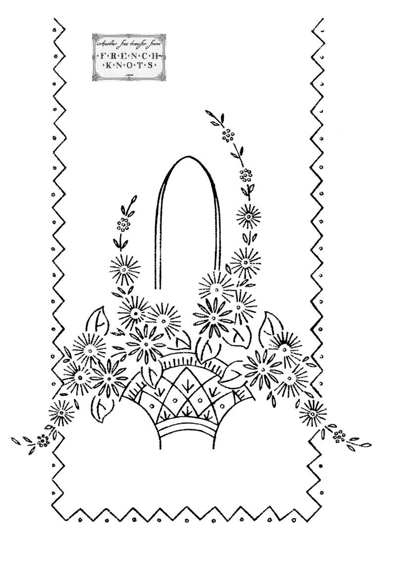 Flower Basket Patterns
