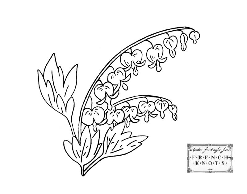 Free Embroidery Transfer Patterns