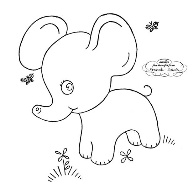 Baby Quilt Animals Embroidery Patterns