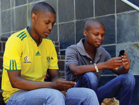 African mobile Phones Usage