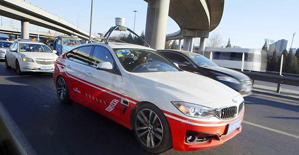 Baidu va bientôt dépasser Google dans le domaine de la conduite autonome