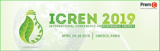 [Expired] ICREN 2019 — International Conference on Renewable Energy — Research for a better future
