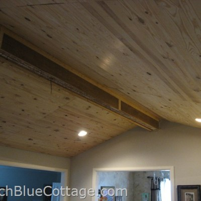 Remodeling / Planking the Ceiling