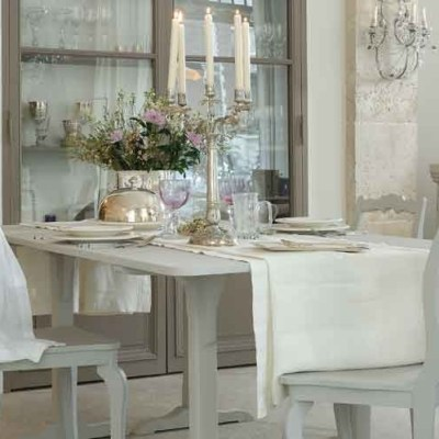 31 Days of French-Inspired Style Day 16: Tablescapes