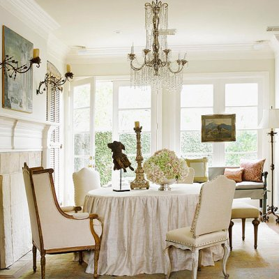 31 Days of French-Inspired Style Day 26: Dining Rooms
