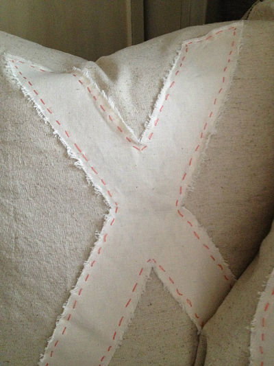 x pillow closeup_opt
